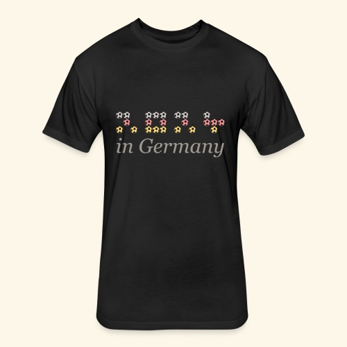 2024 in Germany - Fitted Cotton/Poly T-Shirt by Next Level