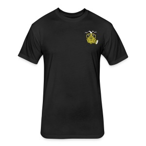 First shirt - Fitted Cotton/Poly T-Shirt by Next Level