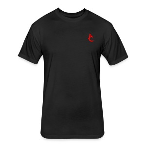 AUGG t-shirts - Fitted Cotton/Poly T-Shirt by Next Level