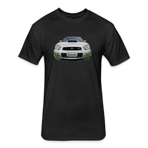 Subaru WRX Second Generation - Fitted Cotton/Poly T-Shirt by Next Level