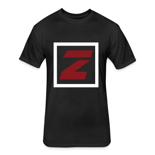 Zimpel Zondag logo - Fitted Cotton/Poly T-Shirt by Next Level