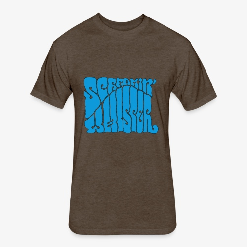 Screamin' Whisper Retro Logo - Fitted Cotton/Poly T-Shirt by Next Level