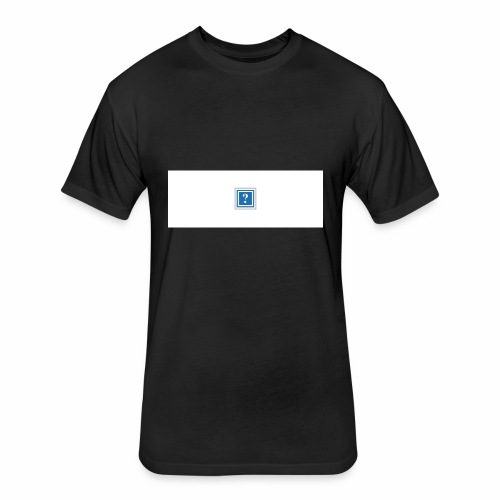 MISSING PICTURE - Fitted Cotton/Poly T-Shirt by Next Level