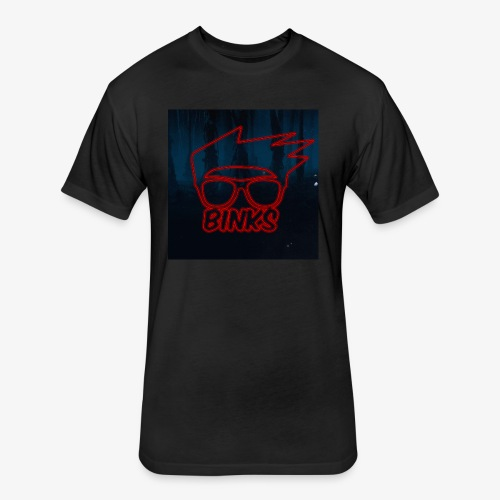 Binks Upside Down - Fitted Cotton/Poly T-Shirt by Next Level