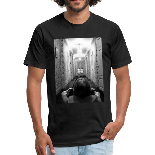 The Shining- Hallway - Fitted Cotton/Poly T-Shirt by Next Level