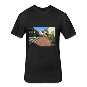 Historic Village - Fitted Cotton/Poly T-Shirt by Next Level