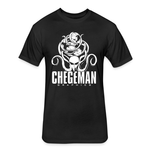 Chegeman Graphics Logo - Fitted Cotton/Poly T-Shirt by Next Level