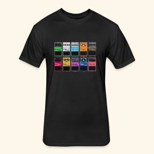 Effects Pedals - Fitted Cotton/Poly T-Shirt by Next Level
