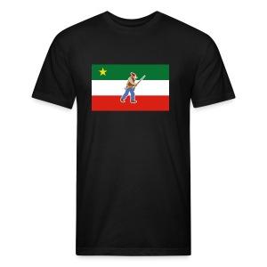 Gilet des Patriotes - T-shirt ajusté poly/coton pour hommes