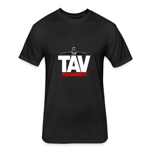 TAV THE GAMER - Fitted Cotton/Poly T-Shirt by Next Level