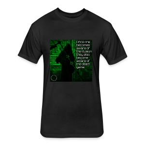 Death Game - Fitted Cotton/Poly T-Shirt by Next Level