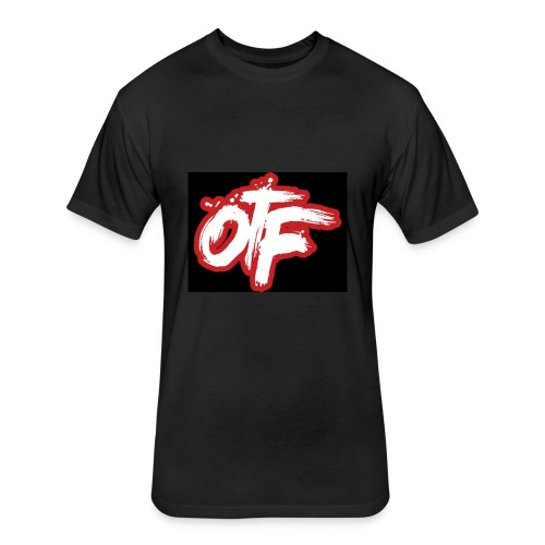 otf v3 - Fitted Cotton/Poly T-Shirt by Next Level
