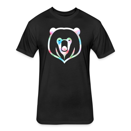 White Bear - Fitted Cotton/Poly T-Shirt by Next Level