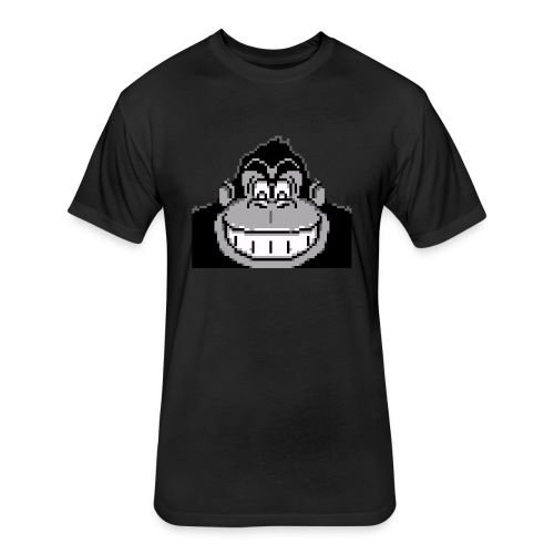Monkey boss - Fitted Cotton/Poly T-Shirt by Next Level