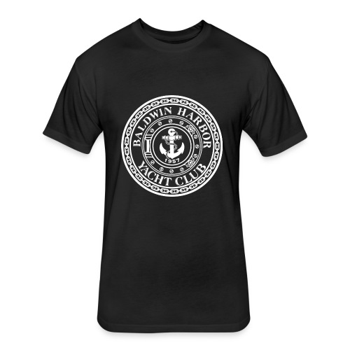 General Logo outlined - Fitted Cotton/Poly T-Shirt by Next Level