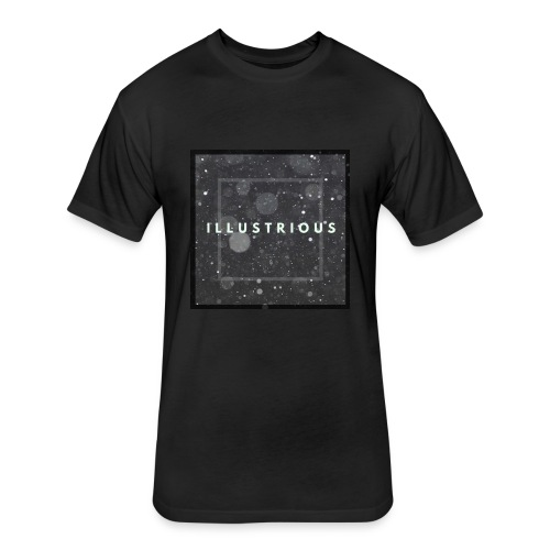 BlackSquare - Fitted Cotton/Poly T-Shirt by Next Level