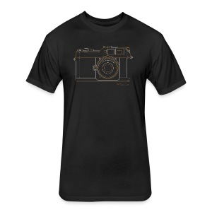 Camera Sketches - Epson RD1 - Fitted Cotton/Poly T-Shirt by Next Level