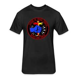 League of Space Pirates: Resist and Thrive - Fitted Cotton/Poly T-Shirt by Next Level