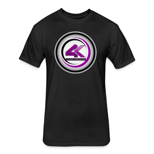 LOGO 4K1 1024x1024 - Fitted Cotton/Poly T-Shirt by Next Level