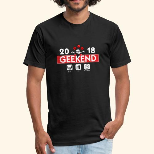 Geekend 2018 Apparel - Fitted Cotton/Poly T-Shirt by Next Level