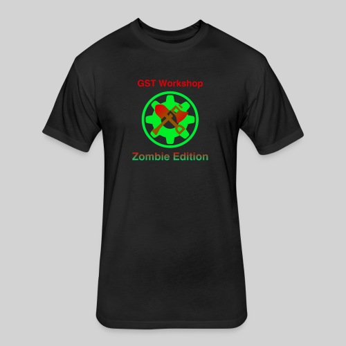 Zombie Edition - Fitted Cotton/Poly T-Shirt by Next Level