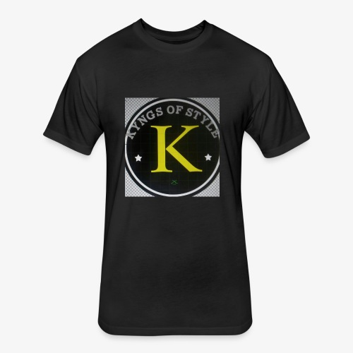 kfs - Fitted Cotton/Poly T-Shirt by Next Level