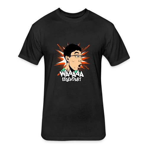 x3TheAran59 WAAAA LEGENDARY Apparel - Fitted Cotton/Poly T-Shirt by Next Level