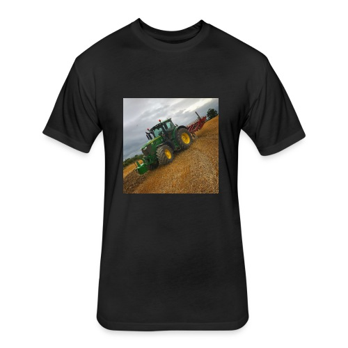 J D 6195r - Fitted Cotton/Poly T-Shirt by Next Level