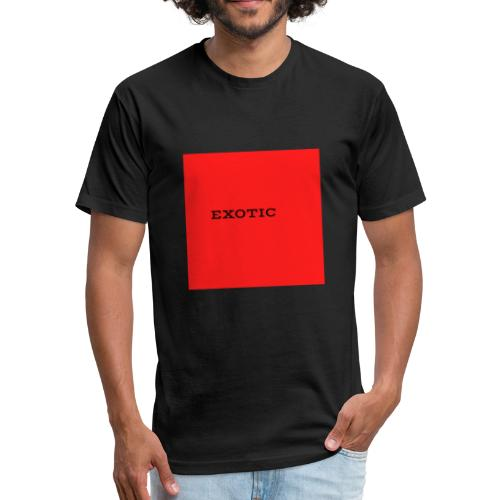 NEW YT EXOTIC WARE - Fitted Cotton/Poly T-Shirt by Next Level