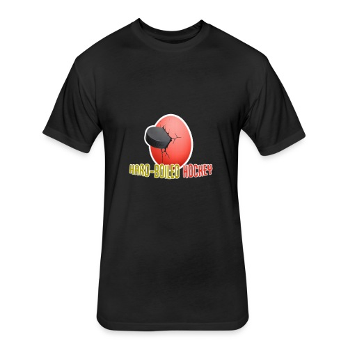 Hard-Boiled Hockey Official Design - Fitted Cotton/Poly T-Shirt by Next Level
