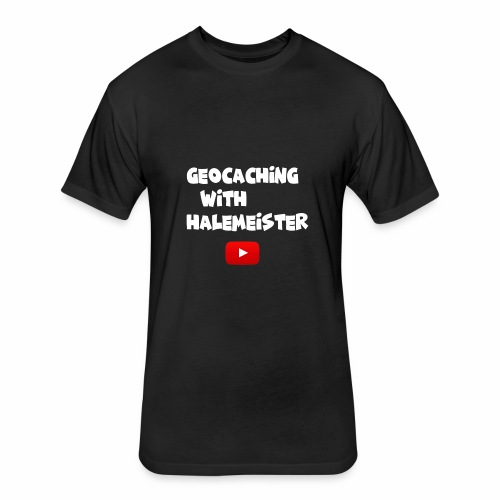 Geocaching with Halemeister - Fitted Cotton/Poly T-Shirt by Next Level