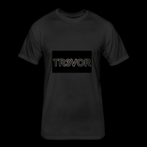 TR3VOR DESIGN - Fitted Cotton/Poly T-Shirt by Next Level
