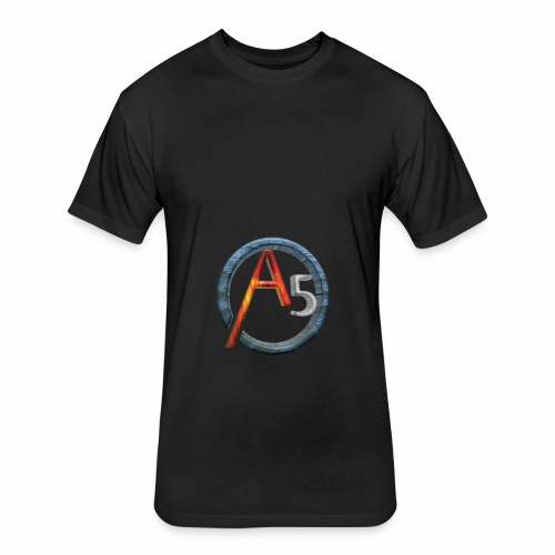 The Transparent Elemental A5's Logo - Fitted Cotton/Poly T-Shirt by Next Level