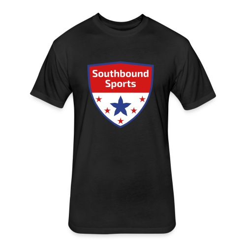 Southbound Sports Crest Logo - Fitted Cotton/Poly T-Shirt by Next Level