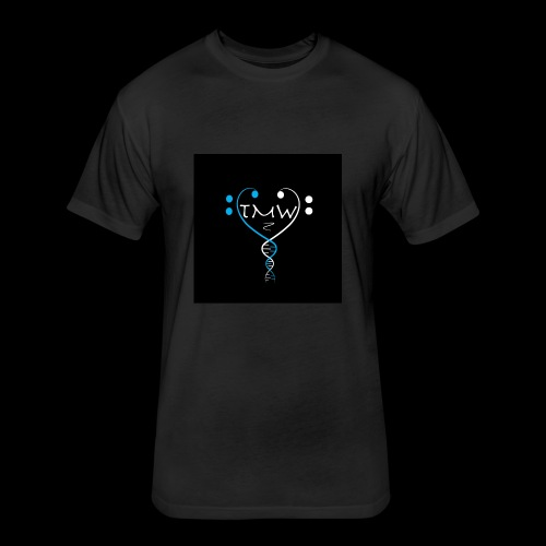 the music within logo - Fitted Cotton/Poly T-Shirt by Next Level