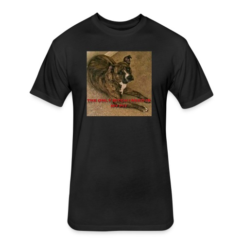 Pit bulls - Fitted Cotton/Poly T-Shirt by Next Level