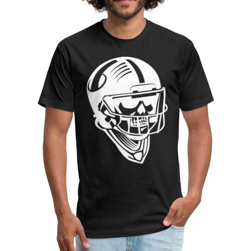 Cute American Football - Fitted Cotton/Poly T-Shirt by Next Level