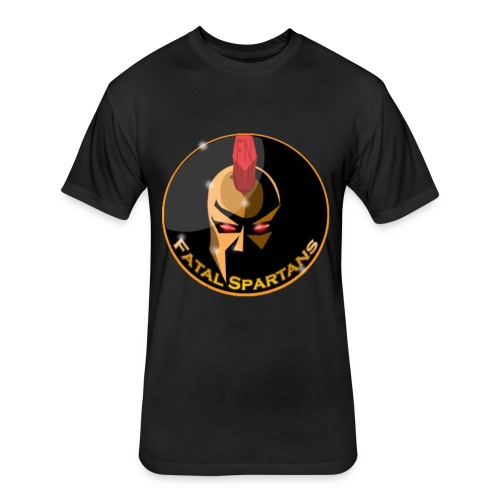 Fatal Spartans - Fitted Cotton/Poly T-Shirt by Next Level