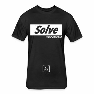 Solve the Equation [fbt] - Fitted Cotton/Poly T-Shirt by Next Level