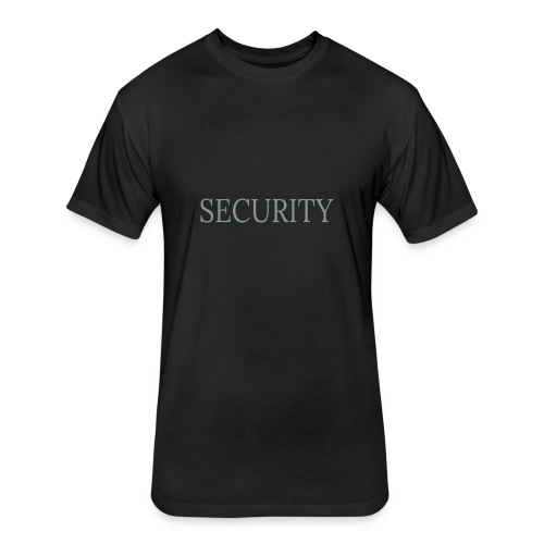 Security 11 - Fitted Cotton/Poly T-Shirt by Next Level