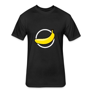CrazyBananaGaming - Fitted Cotton/Poly T-Shirt by Next Level