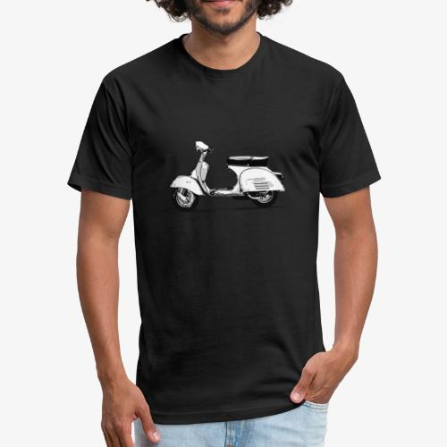 vespa - Fitted Cotton/Poly T-Shirt by Next Level