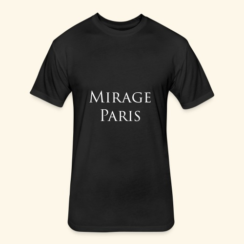 Mirage - Fitted Cotton/Poly T-Shirt by Next Level