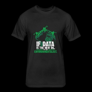 Data Environmentalist - Fitted Cotton/Poly T-Shirt by Next Level