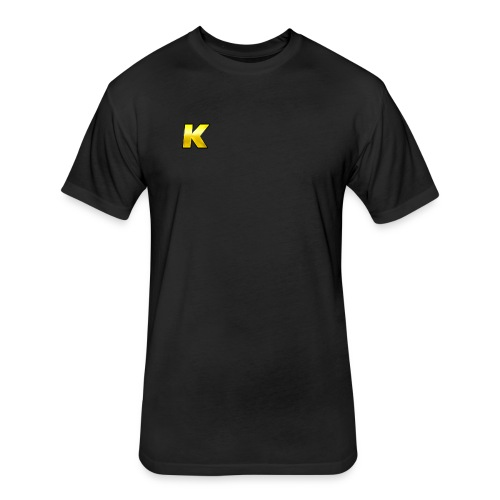 KaseDesign - Fitted Cotton/Poly T-Shirt by Next Level
