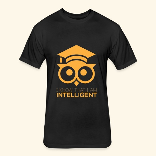 Intelligent Design Shirt - Fitted Cotton/Poly T-Shirt by Next Level