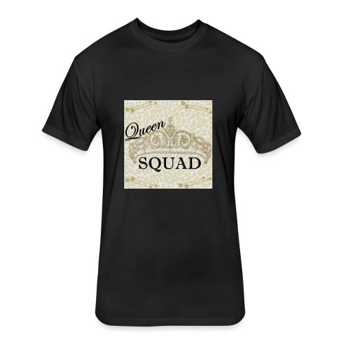 queen squad - Fitted Cotton/Poly T-Shirt by Next Level