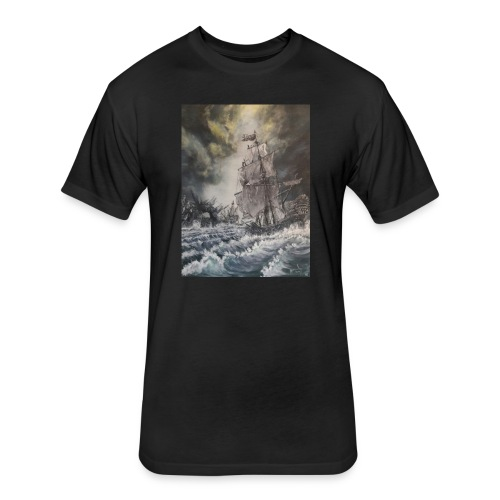 PIRATE ISLANDS - Fitted Cotton/Poly T-Shirt by Next Level