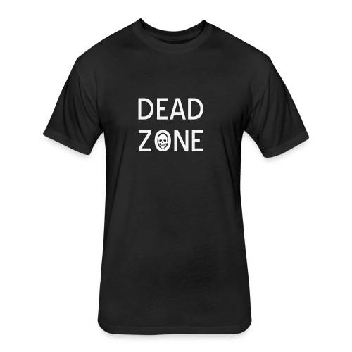 Dead Zone (official) - Fitted Cotton/Poly T-Shirt by Next Level