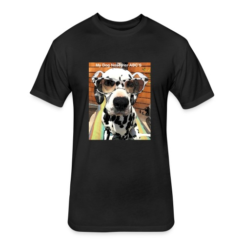 Scenting-Nosework - Fitted Cotton/Poly T-Shirt by Next Level